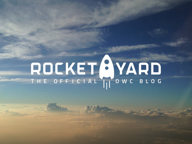 The Rocket Yard rocket header space sci-fi blog branding logo