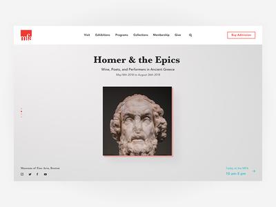 MFA Website Redesign
