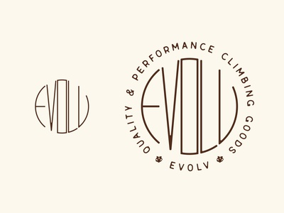 Evolv Graphic Tee apparel climbing shoes branding evolv rock climbing climbing