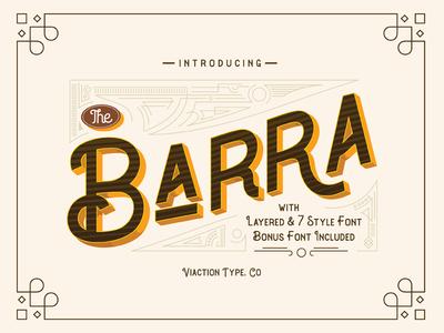 The Barra Typeface