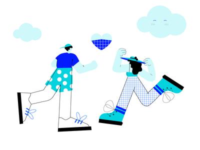 Lovers illustration
