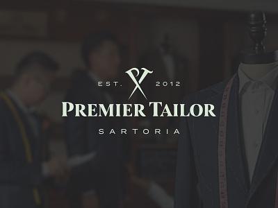 Premier Tailor sartoria tailor priemer branding logo