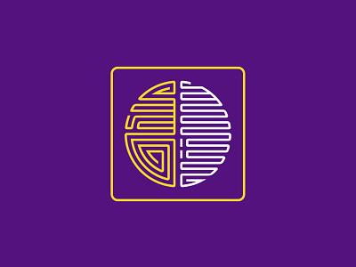 Mongolian Intellectual Academy mind academy brain logo