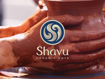 Shavu ceramic arts workshop logo s earth pottery ceramic