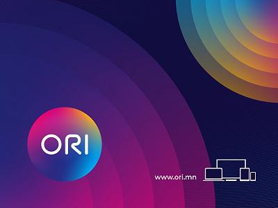 ORI logo circle online tv o ori