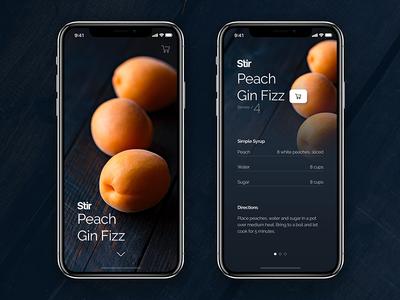 Stir / Peach Gin