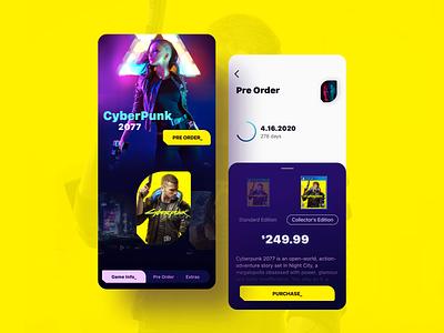 Cyberpunk 2077 / Static 1 concept game app ios mobile cyberpunk cyberpunk 2077