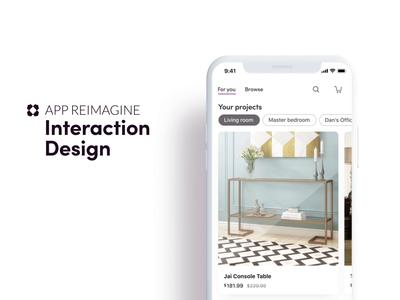 Wayfair App Reimagined / Prototype 1