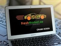 #010 Fruit Logo Design