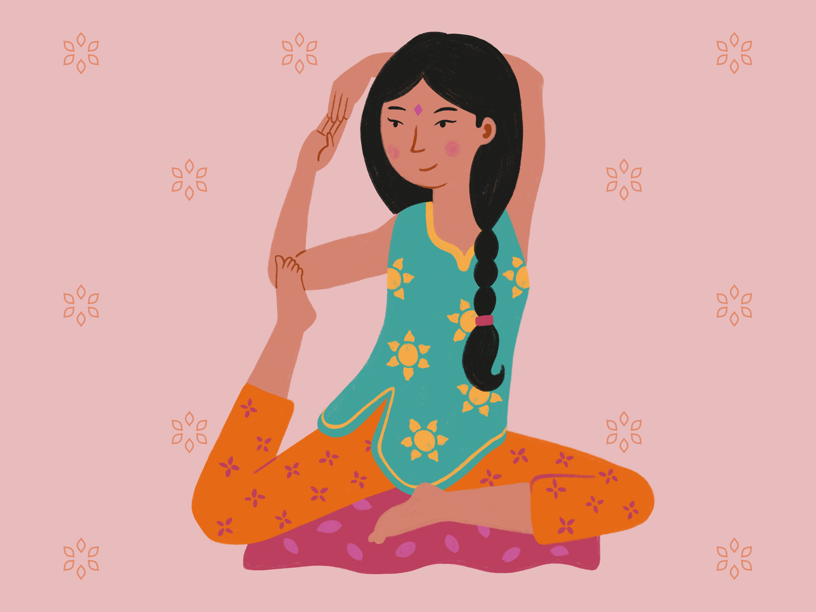 Yoga Girl By Maycon Prasniewski On Dribbble
