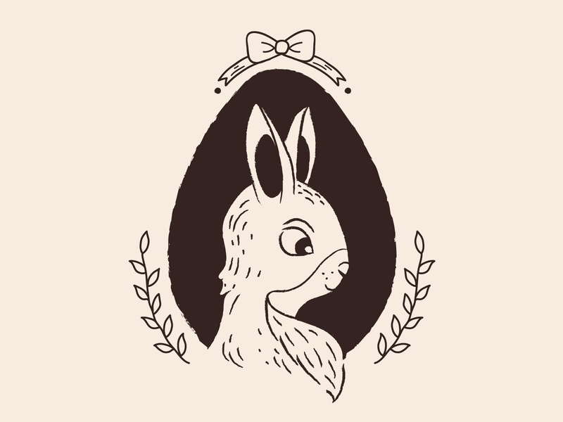 Bunny illustration book illustration book cover book animal illustration animals animal bunnies bunny cartoon illustration cartoons old cartoon old cartoon design character vector illustration flat minimal simple
