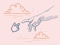 Self-promote illustrations