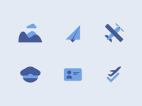 Flight Club | Icon Set