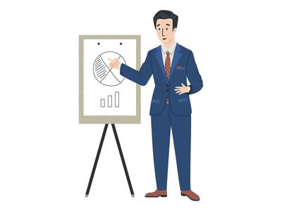 Entrepreuner - Character design for app