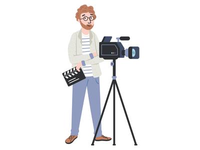 Filmmaker - Character design for app