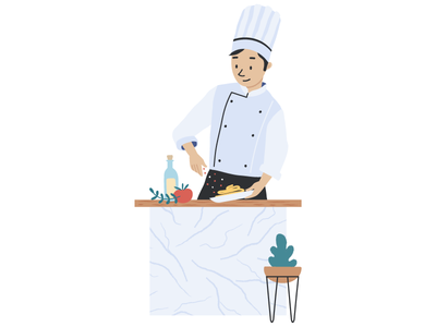 Chef - Character design for app
