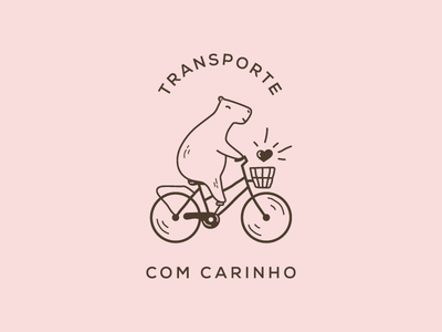 Cycling capybara animation app mascot logo cute animal bike lineart cartoon animals badge animal illustration capybara mascot animal vector illustration ui ux flat simple minimal