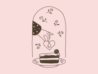 stamp for cake package