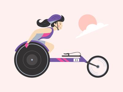 Wheelchair Runner - Woman