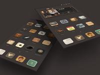 Mobile phone theme design