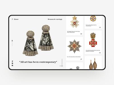 Art treasures Web Design