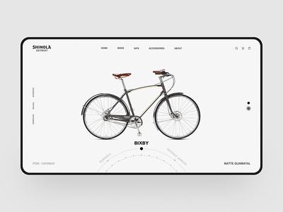 Bike Web Design