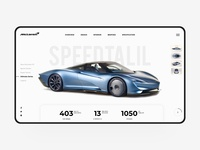 Roadster web design