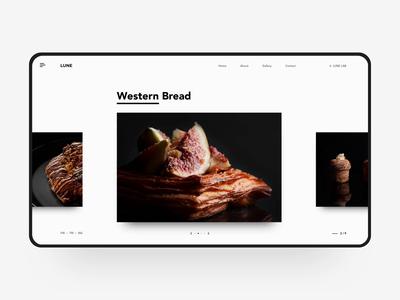 Weastern Bread Wed Design