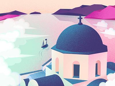 illustrations scenery