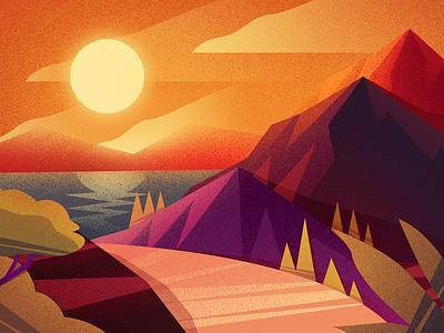 illustrations landscape