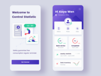 Control Statistics application