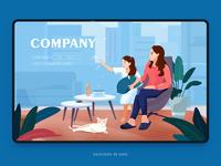 Web illustration design