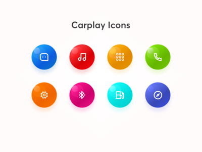 Carplay Icons