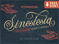 Sinestesia Script Font Freebie