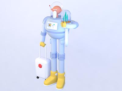 Spacegramps modeling character people cinema4d c4d space spacegramps 3dart 3d design illustration