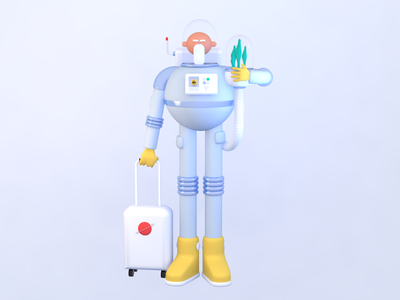 Spacegramps modeling character people cinema4d c4d space spacegramps 3dart 3d design illustration