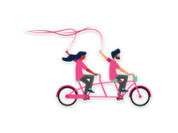 Dribbble is a beautiful ride