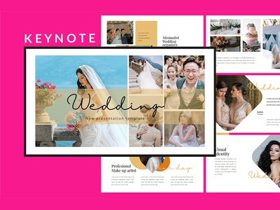 Wedding Lookbook - Keynote Template