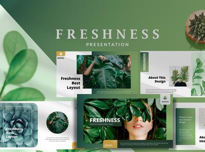 Freshness Modern - Powerpoint
