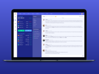 Chat/Messenger for a Cryptocurrency platform