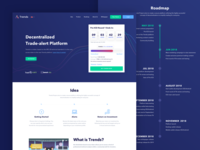 Trendsproject - Landing page