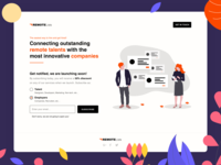RemoteLists - Coming soon / Landing Page