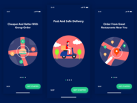 Food app - Onboarding