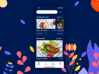 Food app - Home/Discover