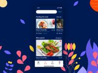 Food app - Home/Discover