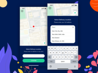 Food app - Location / Address