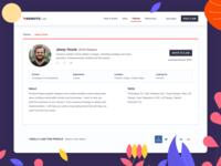 RemoteLists - Talent Profile (WIP)