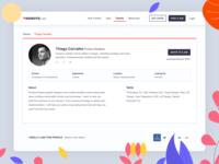 RemoteLists - Talent Profile (Free plan)