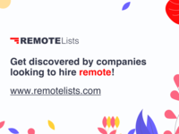 RemoteLists - Get listed for free!