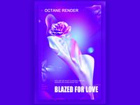 BLAZED FOR  LOVE
